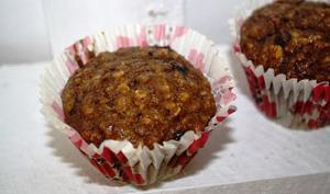 Muffins à la courge muscade et chocolat