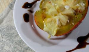 Courge Farcie aux Pommes et Reblochon