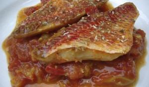 Filets de rouget à la provençale