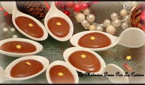 Cuillères de chocolat, gingembre et citron