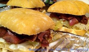 Hamburger au Confit de Canard