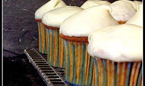 Cupcakes à la courge sucrine et aux épices