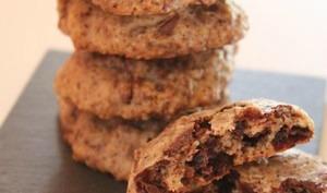 Cookies chocolat et cannelle