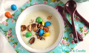 Crème au Chocolat Blanc Façon Danette