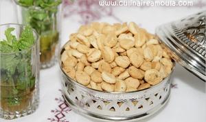 Petits biscuits à l'anis et graines de sésame