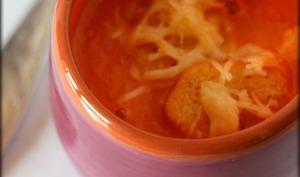 Velouté de tomates rôties
