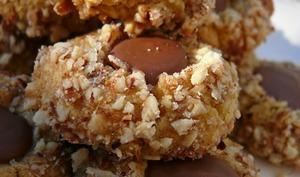 Nids aux noisettes et chcocolat Caramélia
