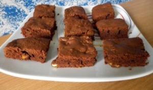 Brownie aux écorces d'orange confite