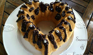 Biscuit de Savoie et Coulis chocolat