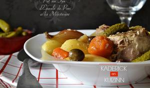 Pot-au-feu d'épaule de porc et légumes bio