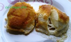 Boules de mozzarella frites