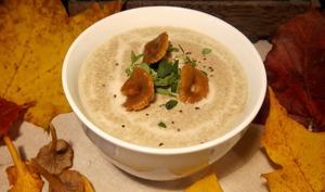 Soupe crémeuse aux champignons