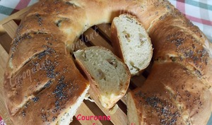 Couronne fromage-olives