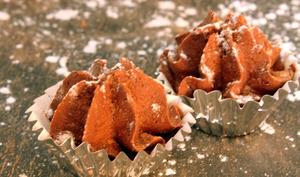 Truffes de noël au chocolat