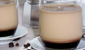 Yaourt au café