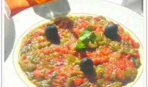 Salade aux poivrons grillées