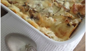 Campbell's® mushroom casserole recipe