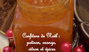 Confiture potiron, orange et touche de citron