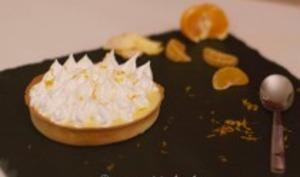 Tartelettes à la mandarine meringuées