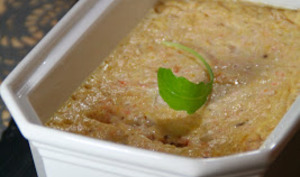 Terrine de saumon et saint jacques