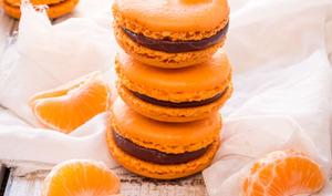 Macarons Chocolat Clementine