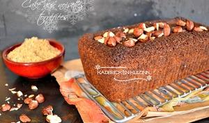 Cake sain aux noisettes bio torréfiées et sucre rapadura