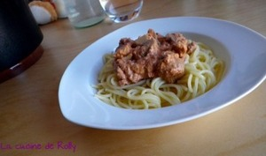 Spaghetti au thon minceur