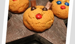 Cookies Rudolph the red-nose reindeer