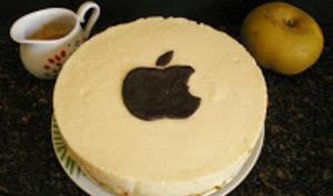Entremet tout doux à la pomme