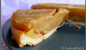 Tarte Tatin aux pommes caramélisées