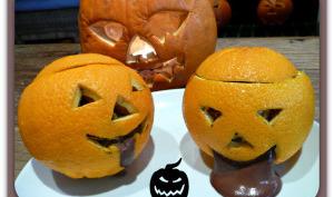Mousse au chocolat de l'Halloween