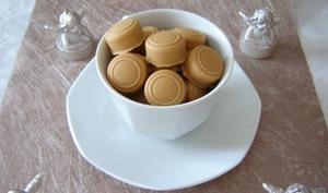 Le bonbon au Dulcey à la ganache au café