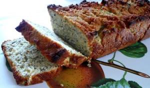 Cake amande, noix de coco, graines de chia