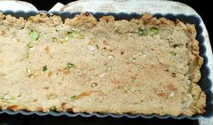Pâte à tarte végétalienne à la poudre d'amande
