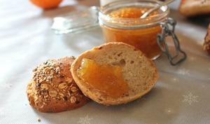 Confiture d'oranges et pain d'épices
