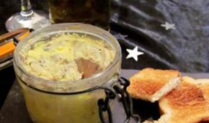 Bocaux de foie gras au Sauternes