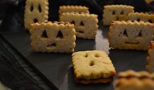 Bad Biscuits Noisettes, fourrés au Chocolat