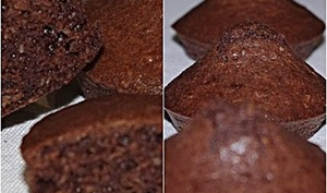 Mignardises chocolatées au son d'avoine et fève tonka