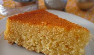 Gâteau aux trois agrumes