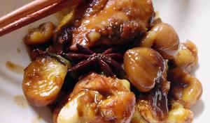 Poulet mijoté aux marrons