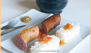 Le rougail saucisses