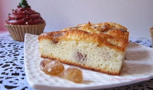 Financiers coco et brisures de marrons
