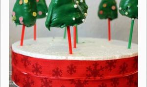 Pop cakes sapins