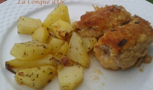 Involtini de porc au speck et pecorino sicilien