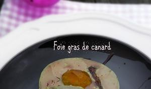 Foie gras figues au torchon
