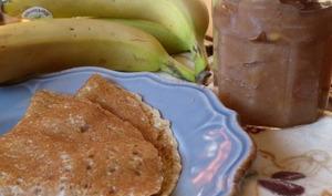 Confiture de banane, rhum et gingembre