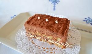 Tiramisu croquant au chocolat