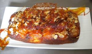 Cake aux abricots façon Tatin