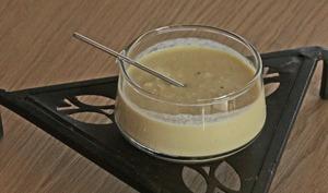 Coulis d'artichaut pour poisson en croûte de sel