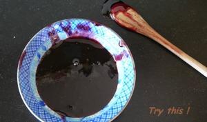 Gelée épaisse de raisins